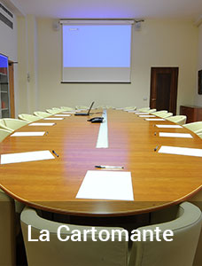 La Cartomante hall